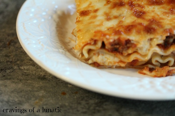Kim's Essex County Famous Lasagna