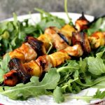 Chicken, Coconut and Pineapple Kebabs | We love these kebabs, coconut done on the grill is freaking amazing.