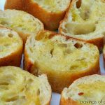 Easy Garlic Bread | Cravings of a Lunatic | Easy to make garlic bread. cooked on the grill.