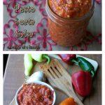 Spicy Sorta Pesto/ Sorta Salsa