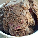 Triple Chocolate Cherry Walnut Ice Cream by Cravings of a Lunatic