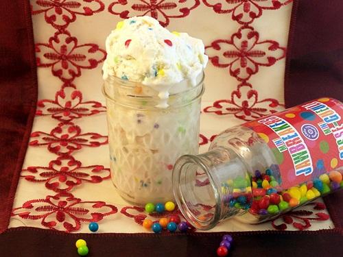 Jawbreaker Ice Cream by Cravings of a Lunatic