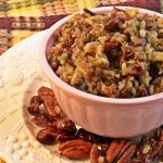 Wild Rice with Cherries and Toasted Pecans