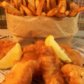 Battered Fish and Chips | Cravings of a Lunatic | Super easy way to make battered fish and chips!