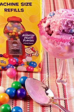Bubblicious Bubblegum Ice Cream #icecreamsundays