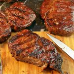 Grilled Rib Steak by Cravings of a Lunatic