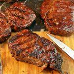 Rib Steak on a Gorgeous Day