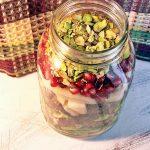 Pomegranate-Pear-Pistachio Salad: Fun with Jars Fridays