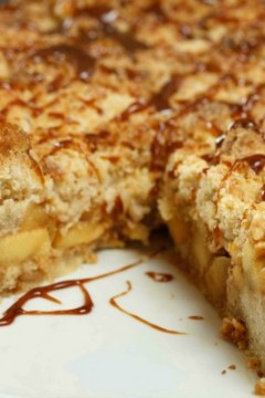 Caramel Apple Tarte by Chef Dennis