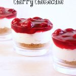 No Bake Cherry Cheesecake- A Tribute to Aunt Barb