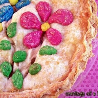 Spring Apple Pie | Cravings of a Lunatic | #apple #pie #dessert