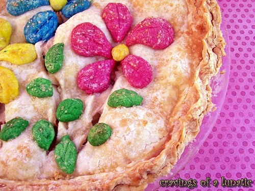 Spring Apple Pie   Cravings of a Lunatic   #apple #pie #dessert