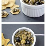 Green and Black Olive Tapenade: Guest Post by Bake Your Day