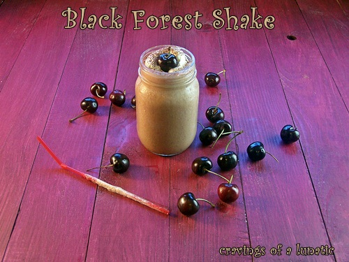 Black Forest Shake for #GreatShakes 2012 | Cravings of a Lunatic