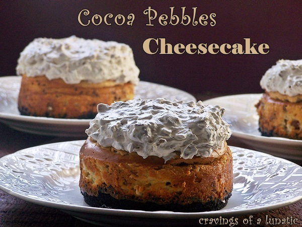 Cocoa Pebbles Cheesecake