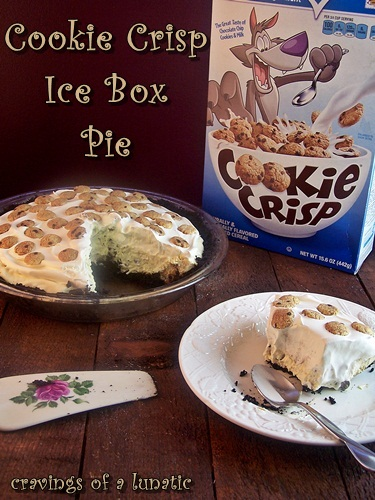 Cookie Crisp Ice Box Pie
