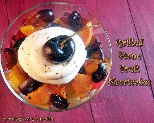 Grilled Stone Fruit Shortcakes