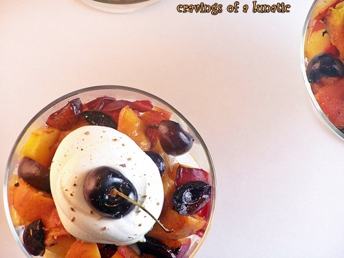 Grilled Fruit Dessert