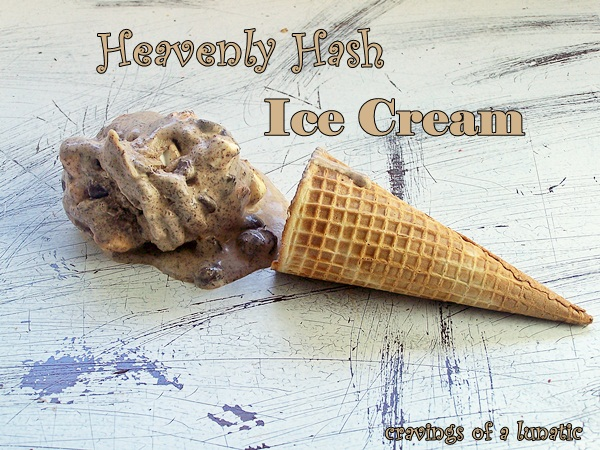 Heavenly Hash Ice Cream
