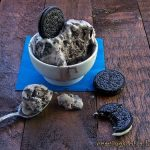 Oreo Ice Cream for Ice Cream Sundays
