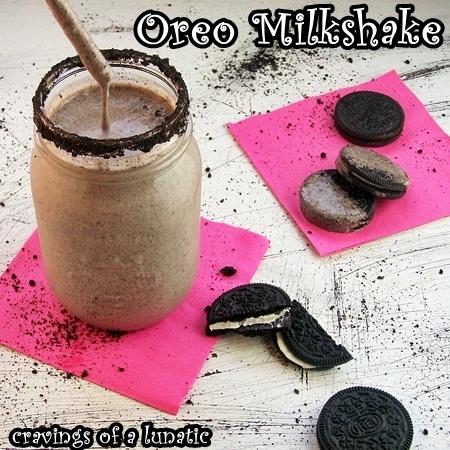 Thick Oreo Milkshake
