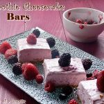 Smoothie Cheesecake Bars: Guest Post for That Skinny Chick Can Bake