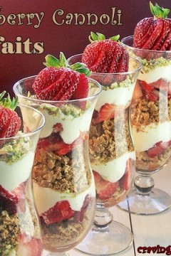 Strawberry Parfaits