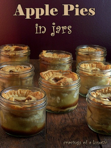 Apple Pie in Jars by Cravings of a Lunatic