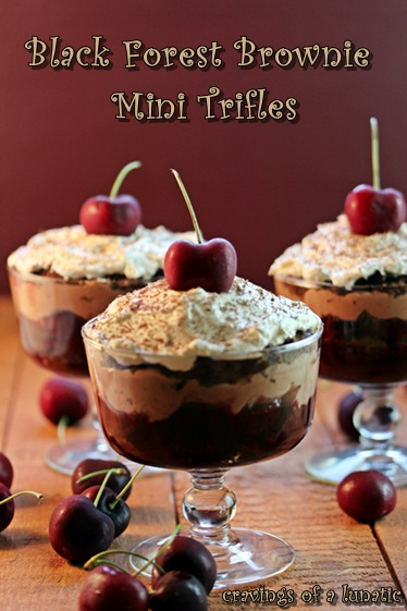 Black Forest Brownie Mini Trifles: Guest Post for The German Foodie ...