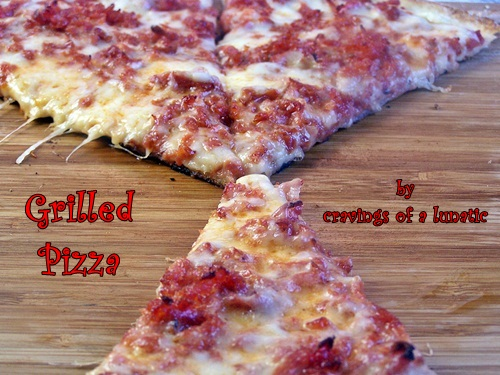 Grilled Pizza by Cravings of a Lunatic