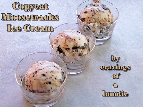 Copycat Moosetracks Ice Cream   Cravings of a Lunatic   Seriously delicious and loaded with peanut butter and chocolate!