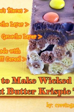 Peanut Butter Krispies by Cravings of a Lunatic
