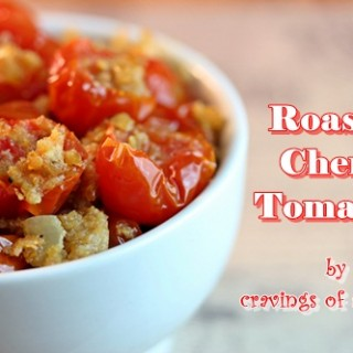 Roasted Tomatoes by Cravings of a Lunatic