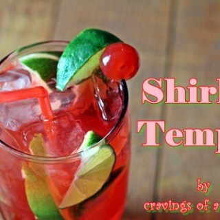 Shirley Temple | Cravings of a Lunatic | #drink #beverage #cherry