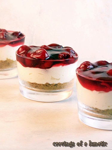 Cherry Cheesecake by Cravings of a Lunatic