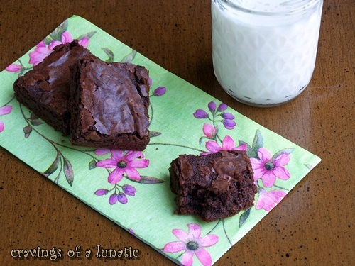 The Best Brownies in the World by Cravings of a Lunatic