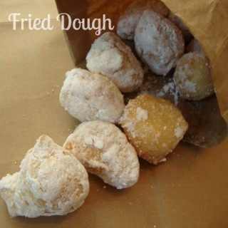 Fried Dough by Chocolate, Chocolate and More featured on Cravings of a Lunatic