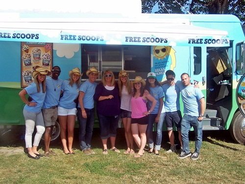 Scoop Moovement with Ben & Jerry's at Bayfest