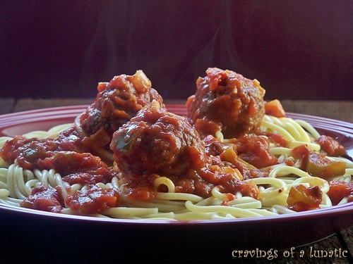 Mascarpone Meatballs Pasta by Cravings of a Lunatic