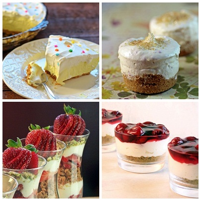 No Bake Desserts by Cravings of a Lunatic