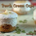 Burning Down The Kitchen with Tales of an Overtime Cook while making Peach Cream Cups