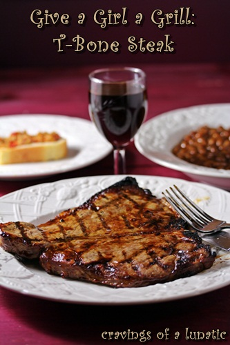 how to grill a t-bone steak