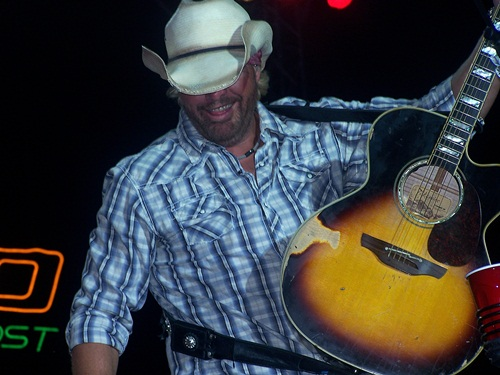 Toby Keith in concert at Bayfest 2012