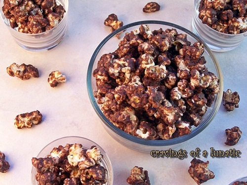 Turtle Popcorn by Cravings of a Lunatic