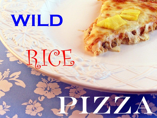 Wild Rice Pizza by Cravings of a Lunatic