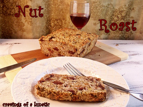 Nut Roast by Cravings of a Lunatic