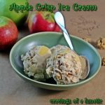 Apple Crisp Ice Cream