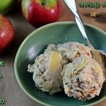 Apple Crisp Ice Cream for Our Autumn Apple Party! #SundaySupper