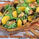 Mandarin Orange Chicken Salad for #SundaySupper