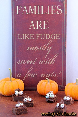 Monster Fudge | Cravings of a Lunatic | Delicious fudge recipe that you can jazz up for Halloween!